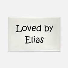 Cute Elias Rectangle Magnet