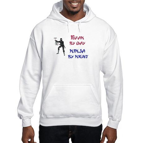 Evan - Ninja by Night Hooded Sweatshirt