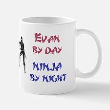 Evan - Ninja by Night Mug