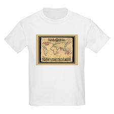 1850 British Empire Map T-Shirt