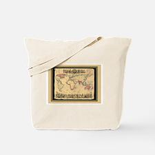 1850 British Empire Map Tote Bag