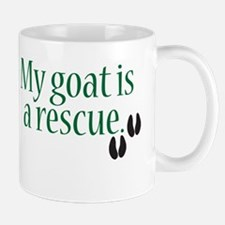 My Goat Is A Rescue Mug