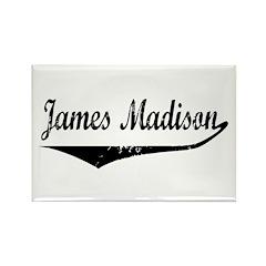 James Madison Rectangle Magnet