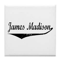 James Madison Tile Coaster
