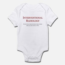 Interventional Radiology Infant Bodysuit