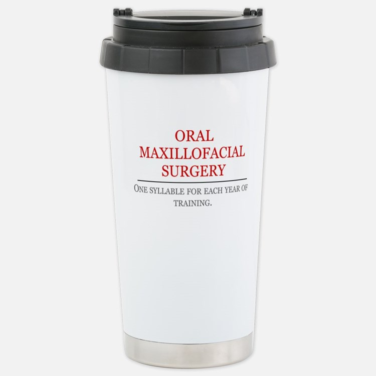 OMFS Stainless Steel Travel Mug