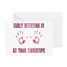 Early Detection is at Your Fingertips Greeting Car
