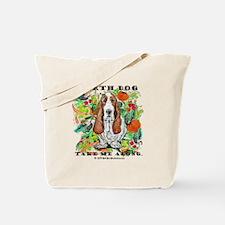 Basset Hound Ecology Tote Bag