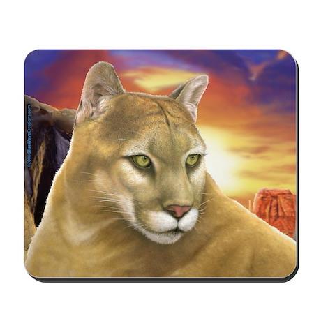 Mountain Lion Cougar Mousepad
