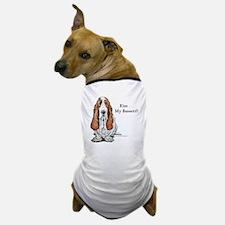 Kiss My Bassett!! Dog T-Shirt