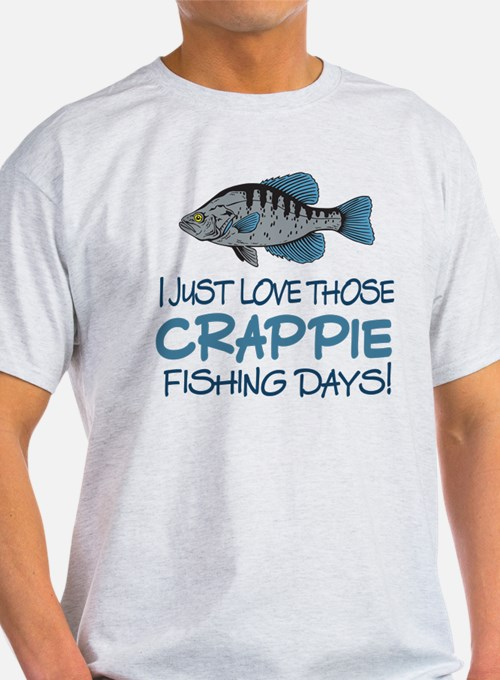 crappie fishing t shirts shirts tees custom crappie