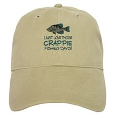 Crappie Fishing Day! Baseball Cap