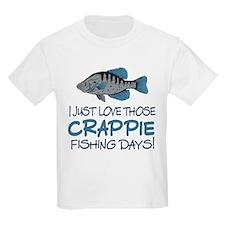 Crappie Fishing Day! T-Shirt