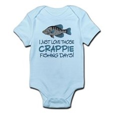 Crappie Fishing Day! Infant Bodysuit