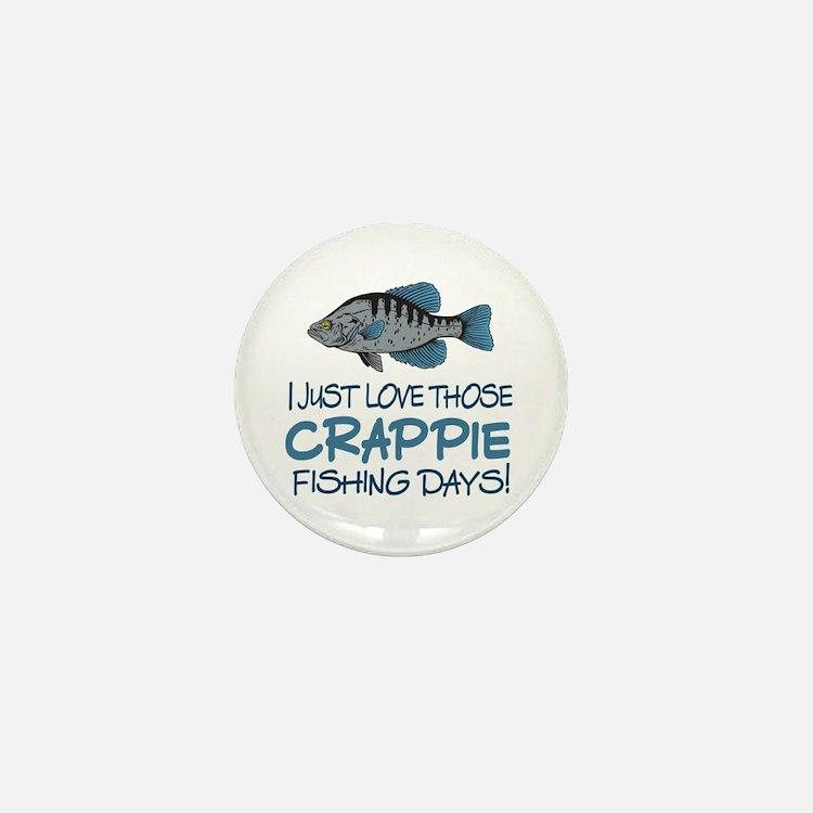 Crappie Fishing Day! Mini Button