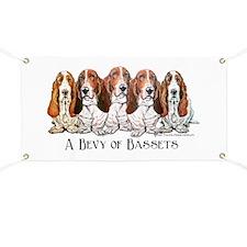 Basset Hound Bevy Banner