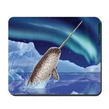 Narwhal Whale Mousepad mouse pad
