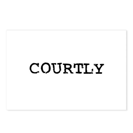 Courtly Postcards (Package of 8)