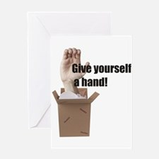 Give Yourself A Hand Greeting Card