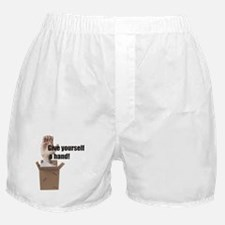 Give Yourself A Hand Boxer Shorts