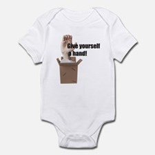 Give Yourself A Hand Infant Bodysuit