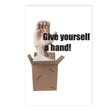 Give Yourself A Hand Postcards (Package of 8)