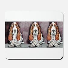 Basset Trio Mousepad