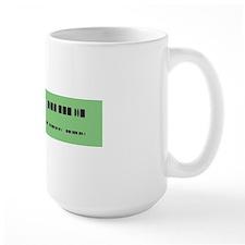 Morse Code Insult Mug