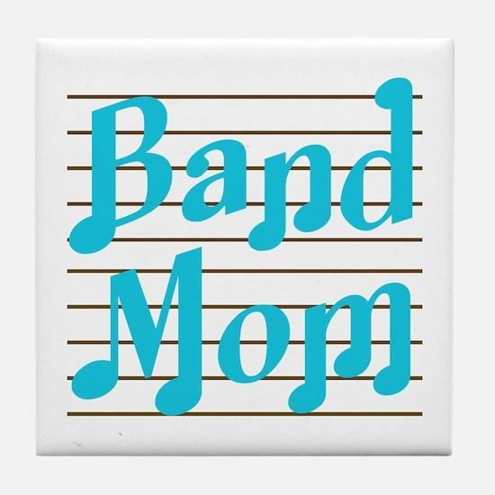 Musical Band Mom Tile Coaster