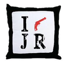 I Shot J.R. Throw Pillow