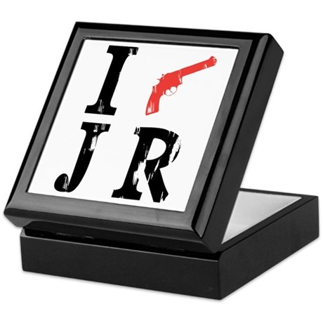 I Shot J.R. Keepsake Box