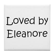 Unique Name eleanor Tile Coaster