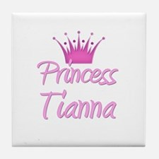 Princess Tianna Tile Coaster