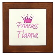 Princess Tianna Framed Tile
