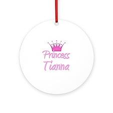 Princess Tianna Ornament (Round)