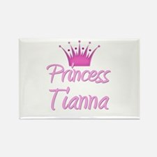 Princess Tianna Rectangle Magnet