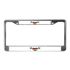 Cute Bride and groom License Plate Frame