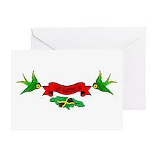 Unique Jamaica love Greeting Card
