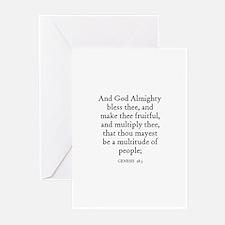 GENESIS  28:3 Greeting Cards (Pk of 10)