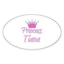 Princess Tiana Oval Decal
