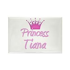Princess Tiana Rectangle Magnet