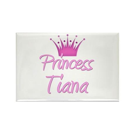 Princess Tiana Rectangle Magnet (10 pack)