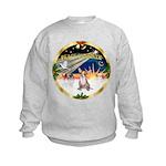 XmasSunrise/Chihuahua #1 Kids Sweatshirt