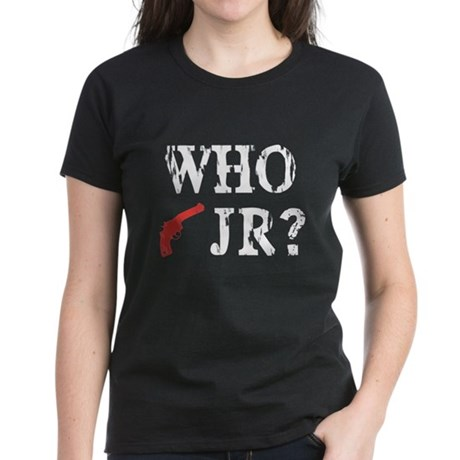 Who Shot J.R.? Women's Dark T-Shirt