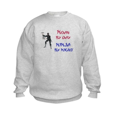 Noah - Ninja by Night Kids Sweatshirt