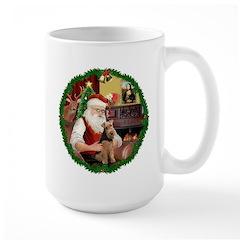 Santa's Welsh T Large Mug