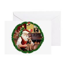 Santa's Welsh T Greeting Card