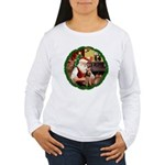 Santa's Welsh T Women's Long Sleeve T-Shirt