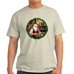 Santa's Welsh T Light T-Shirt