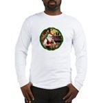Santa's Welsh T Long Sleeve T-Shirt